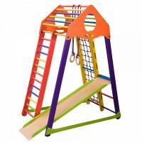 Детский спортивный комплекс для дома BambinoWood Color