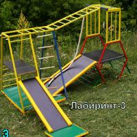 Трансформер @Лабиринт - 3. Детский спортивно-игровой комплекс.