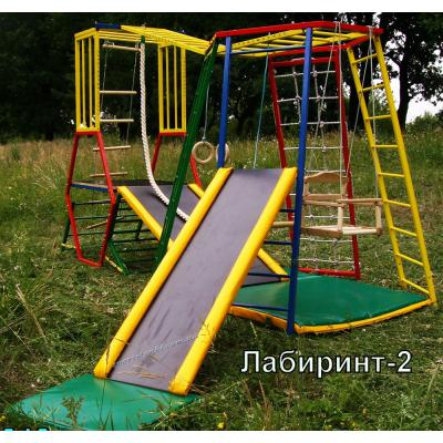 Трансформер @Лабиринт - 2. Детский спортивно-игровой комплекс.
