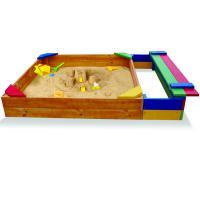Песочница с ящиком для игрушек