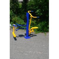 Степер-разгибатель бедра уличный тренажер RM-06